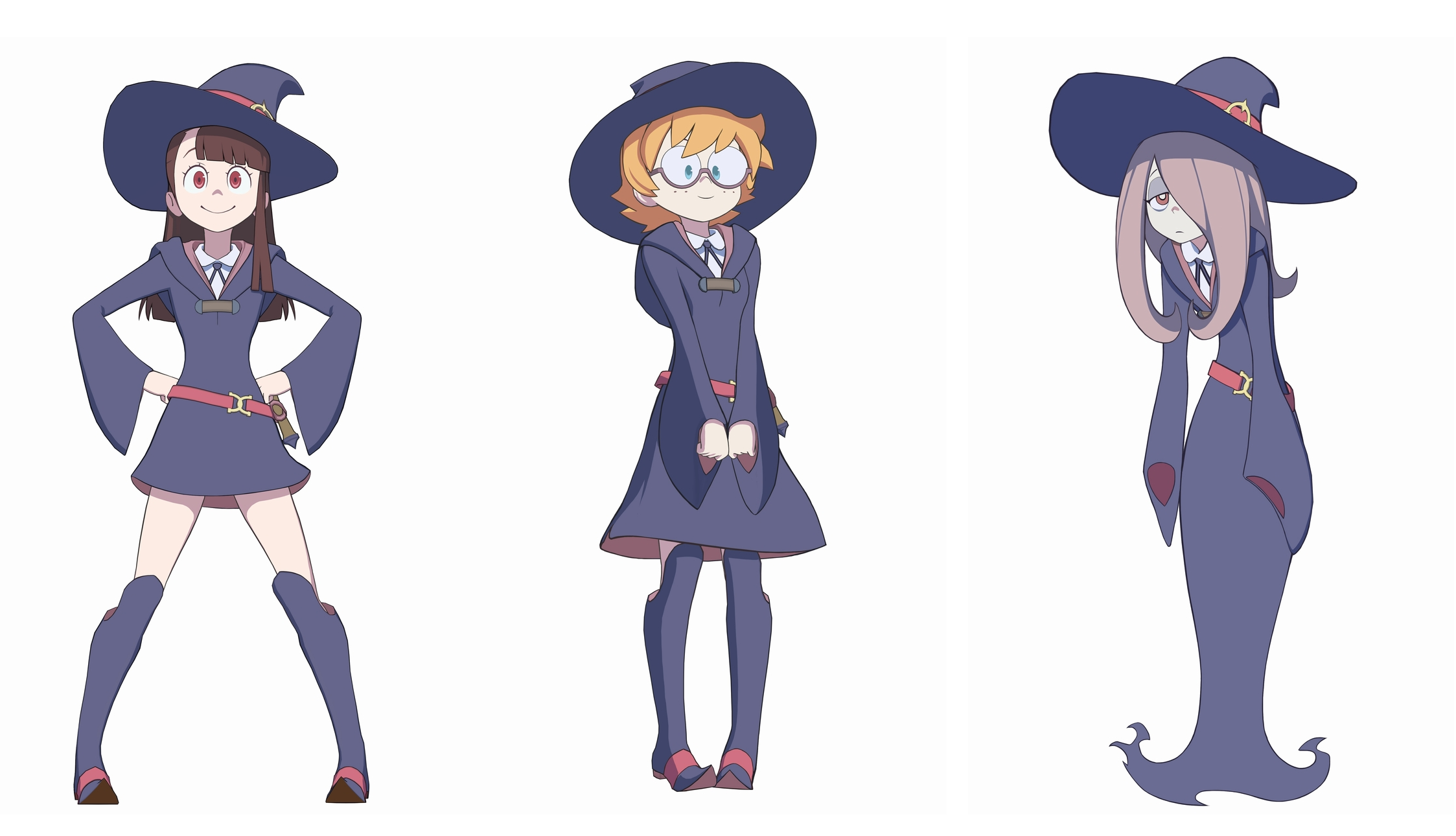 The Gang's Characters Models from LWA: Chamber of Time.