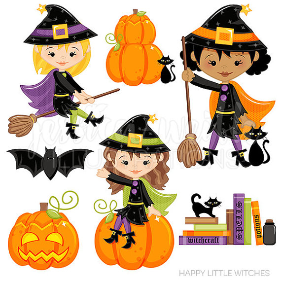 Happy Little Witches.