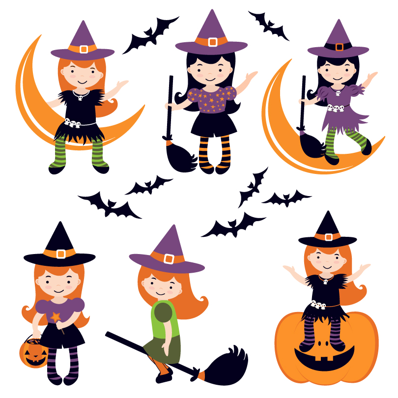 Pictures Of Witches For Halloween.