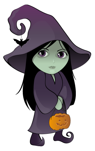 Witch clipart free.