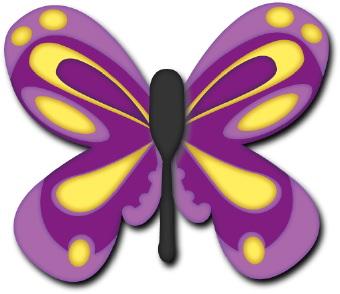 Little butterfly clipart.