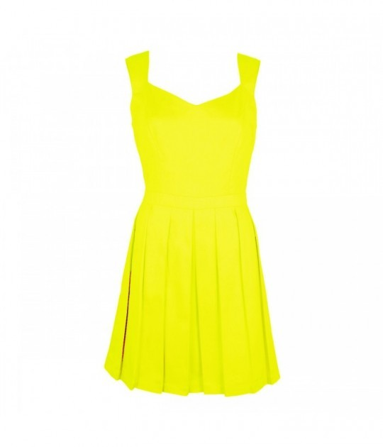 Yellow Dress Clipart.