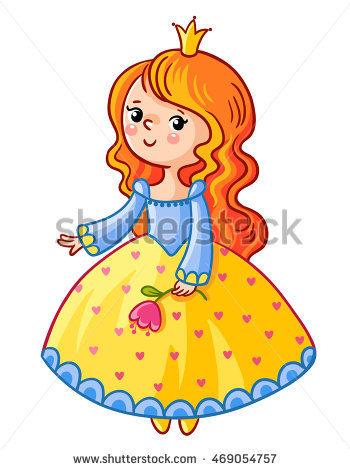 Little Princess Dress Yellow Stock Images, Royalty.