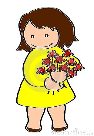Yellow Dress Clipart Sleeveless.