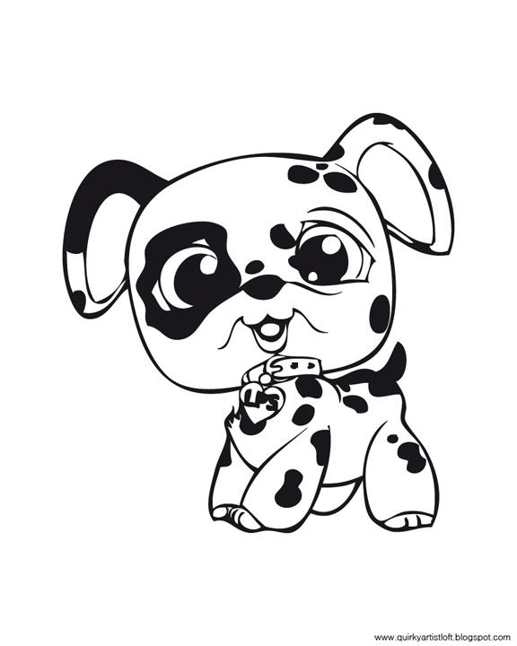 Quirky Artist Loft: Littlest Pet Shop.