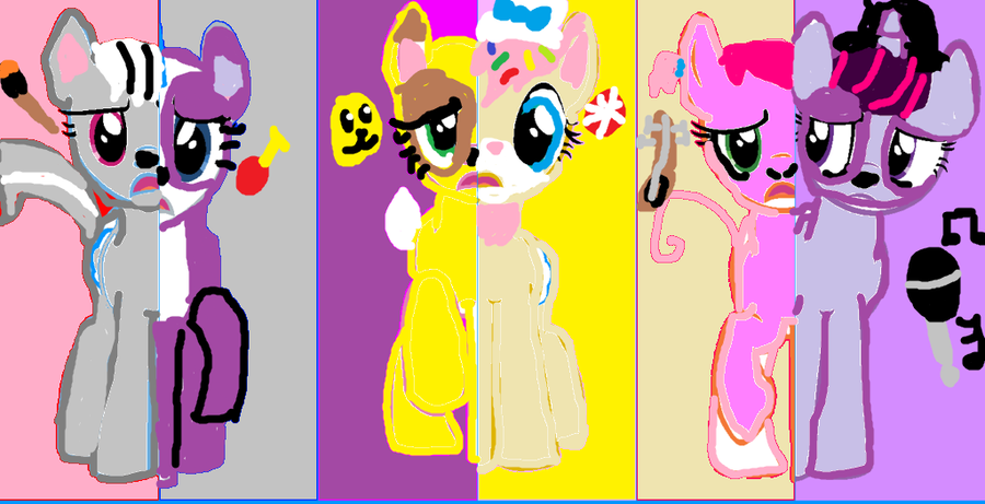 Littlest Pet Shop What My Cutie Mark Is Telling Me by kittyfelcon.