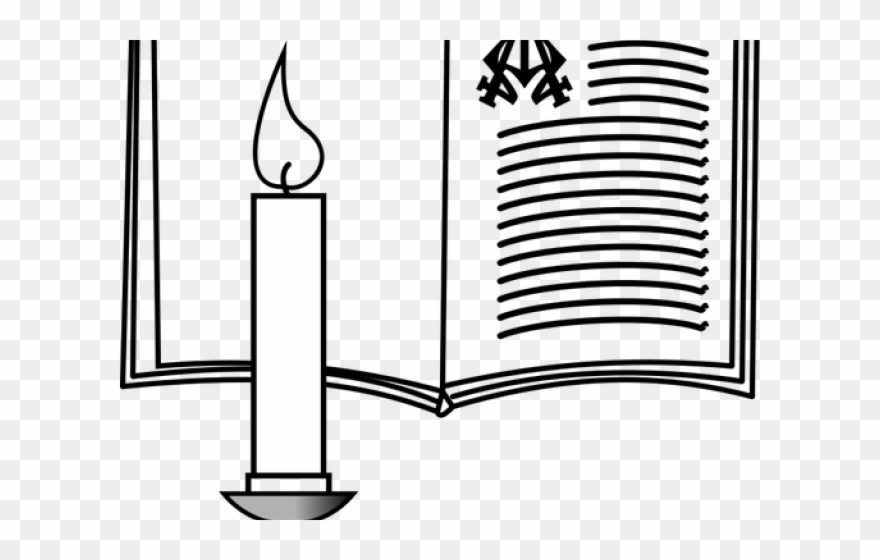 Bible Clipart Candle.