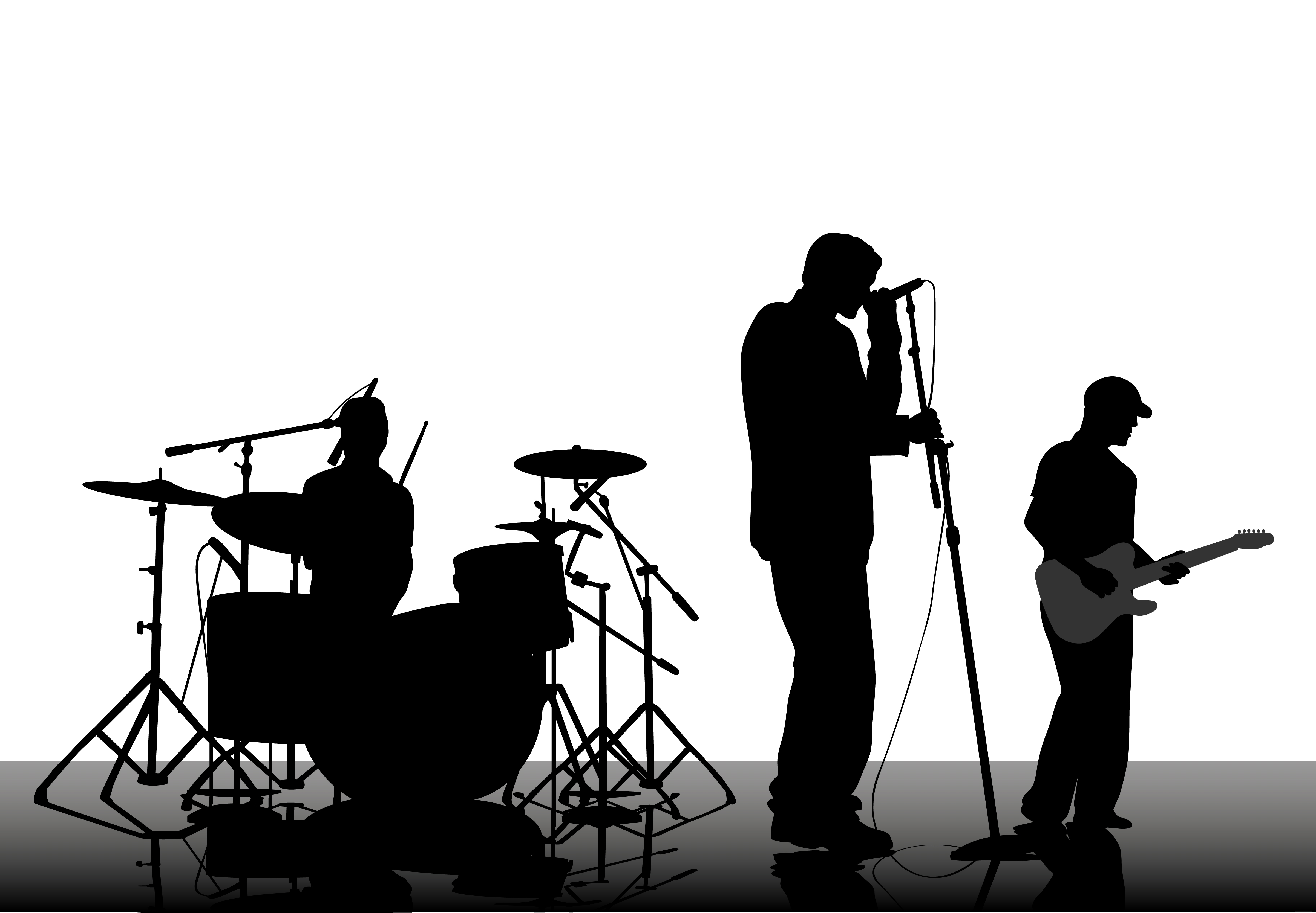 Live Band Clipart.