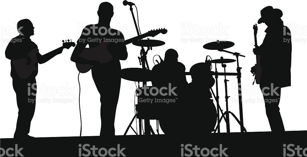 Popular band logo clipart.