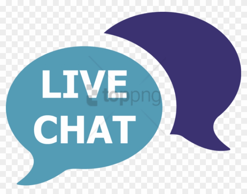 Free Png Live Chat Icon Image.