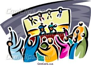 live concert Vector Clip art.
