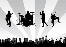 Concert Clip Art, Vector Concert.