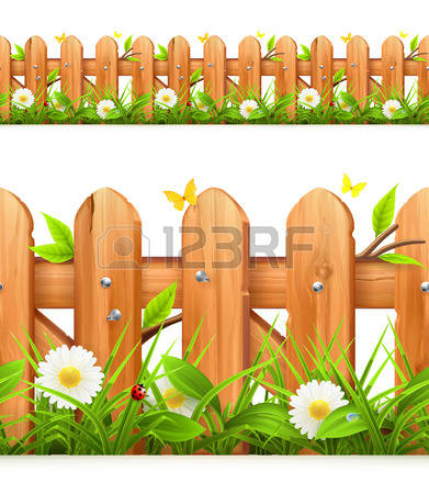 14,134 Wood Fence Stock Illustrations, Cliparts And Royalty Free.