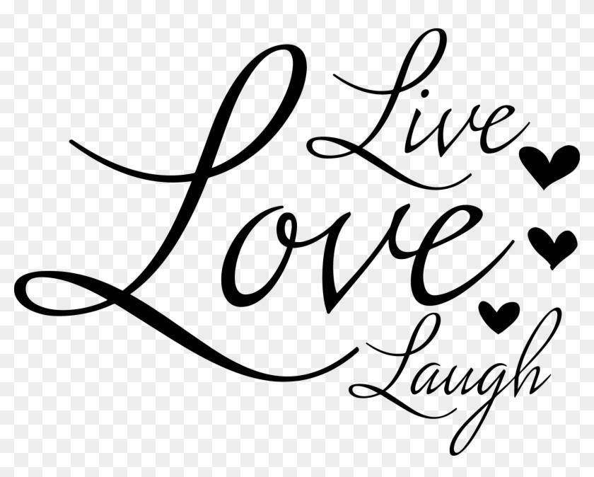 Live Love Laugh Png, Transparent Png.
