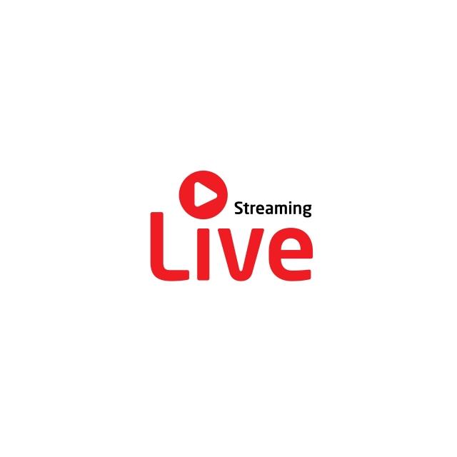 Background Material Design For Live Streaming Logo, Live.
