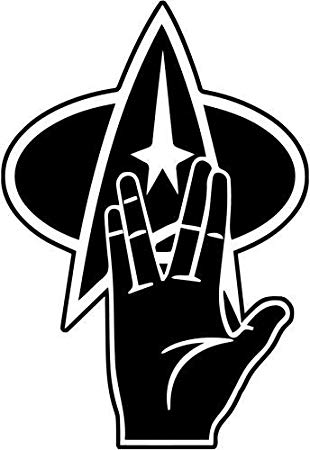 Amazon.com: Mandy Graphics Star Trek Live Long and Prosper.