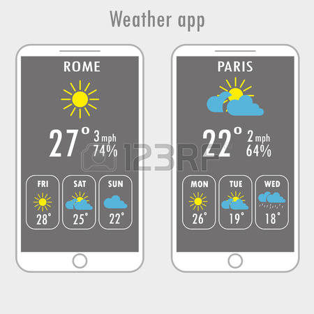 Live weather clipart app.