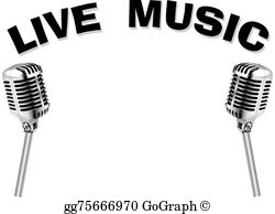 Live Music Clip Art.