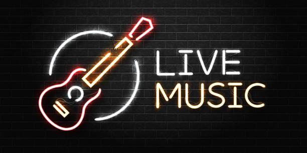 Best Live Music Bar Illustrations, Royalty.