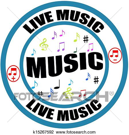 Live music Clipart.