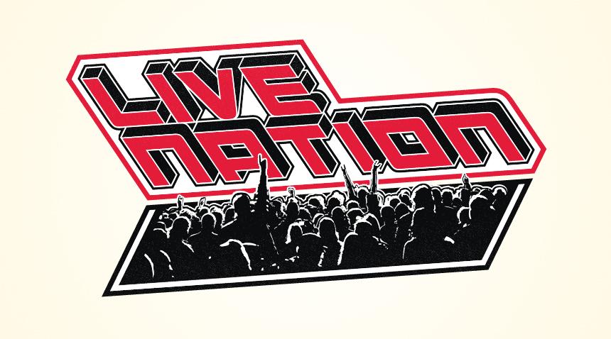 Live Nation Logo Proposals.