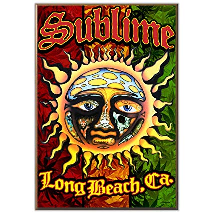 Amazon.com: Silver Buffalo LN110311 Live Nation Sublime Sun.