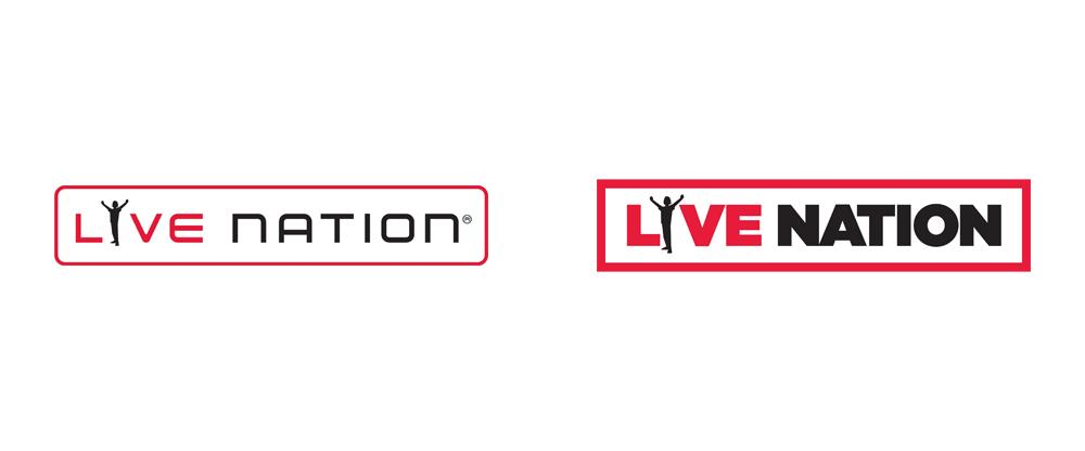 Brand New: New Logo for Live Nation.