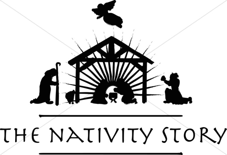 The Nativity Story Silhouette.