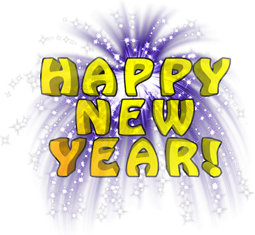 Live clipart happy new year.