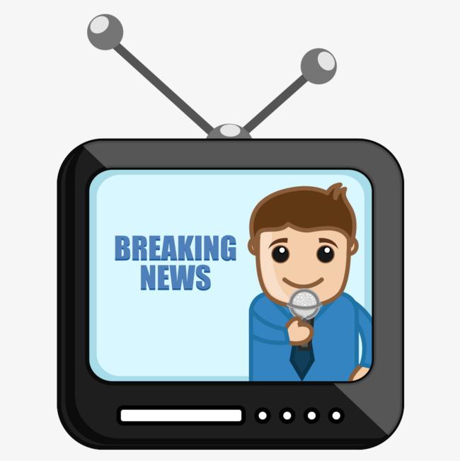 News Tv Clipart.