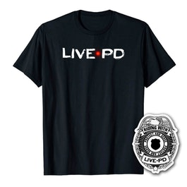 Live PD Logo Men\'s Short Sleeve T.
