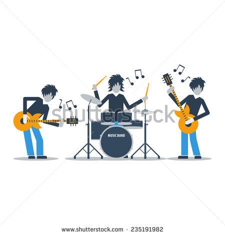 Live Band Stock Photos, Royalty.