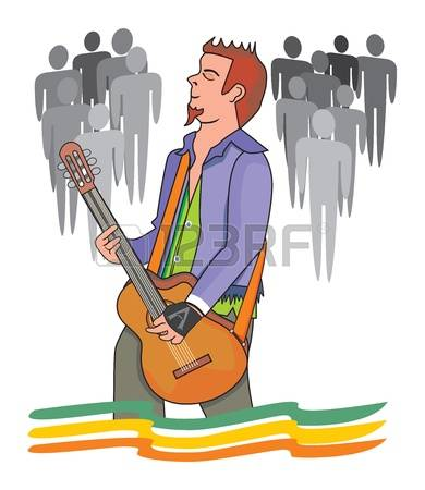 308 Male Live Performance Stock Vector Illustration And Royalty.