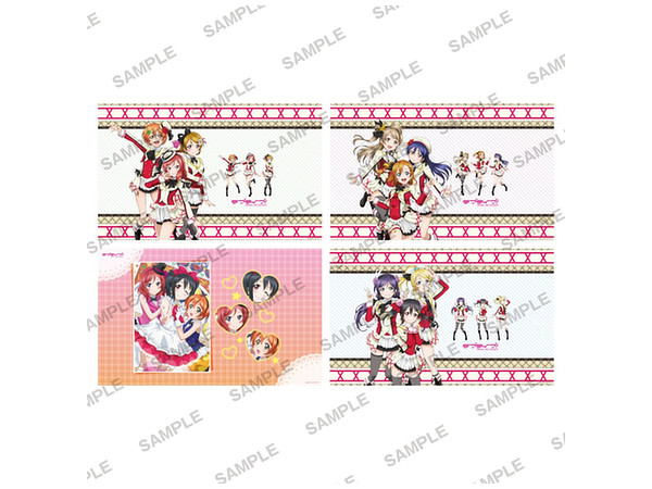 Love Live! Stone Paper Book Cover Collection Vol.2: 1 Box 8pcs by.