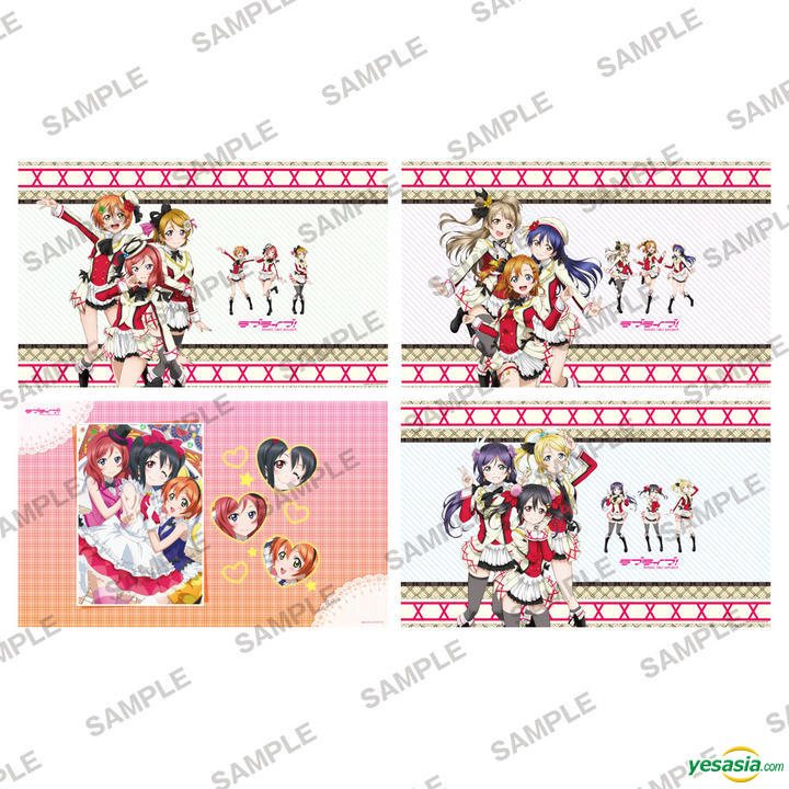 YESASIA: Love Live! : Stone Paper Book Cover Collection Vol.2.