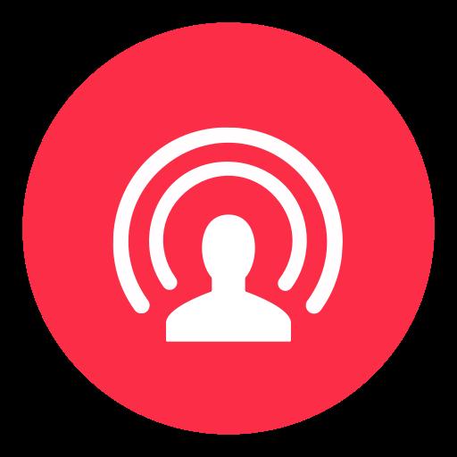 Facebook, facebook live, live, livestream icon.