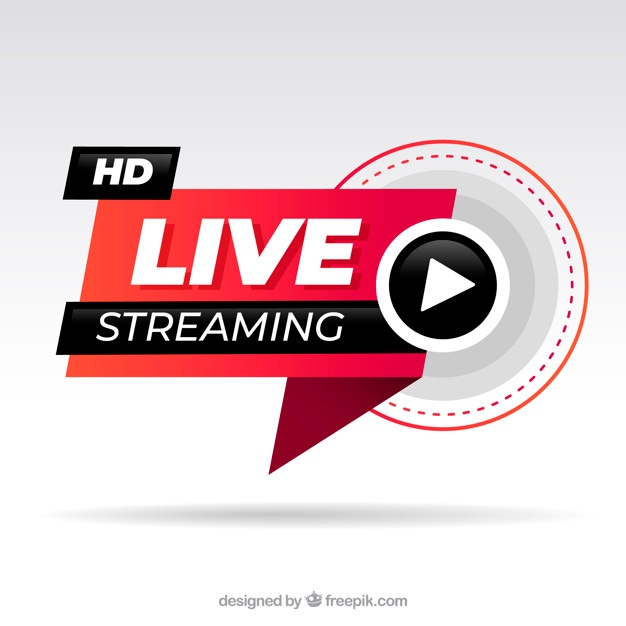 Free Live streaming background SVG DXF EPS PNG.