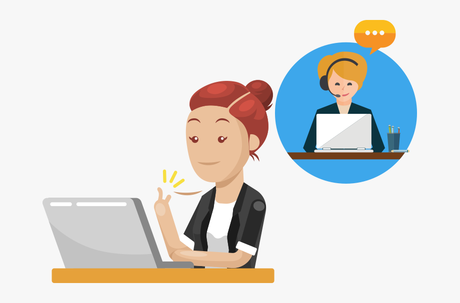Live Chat Clipart Live Support.