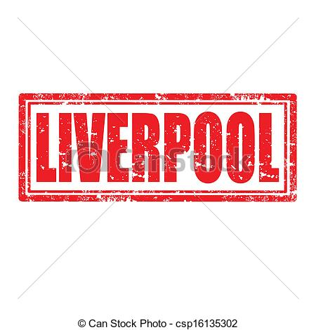 Vector Clipart of Liverpool.