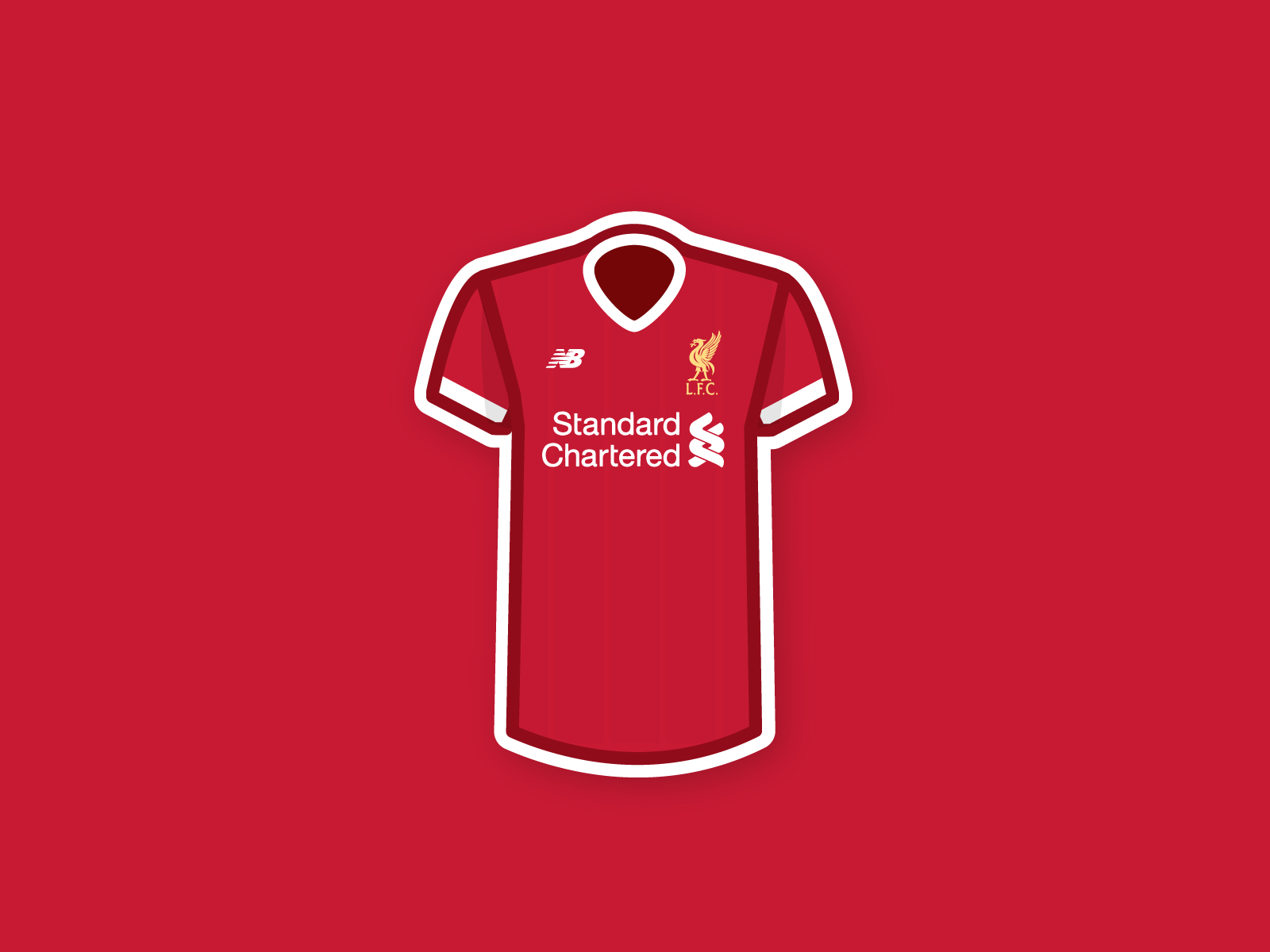 Liverpool Jersey Wallpapers.