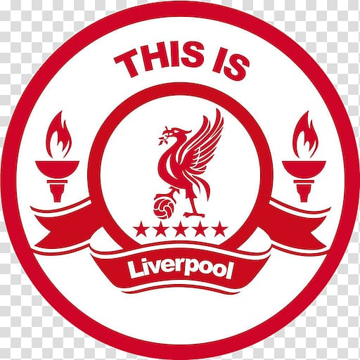 This is Liverpool logo, Liverpool F.C. Premier League.