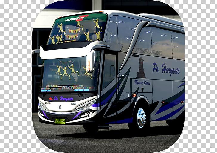 Livery BUSSID Bus Simulator Indonesia Livery Strobo SHD Tour.