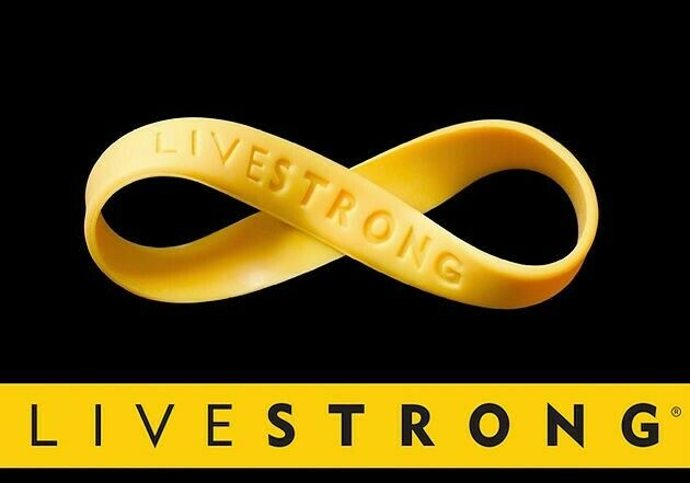 3 Youth Livestrong Nike Lance Band Bracelet Armstrong Wristband.
