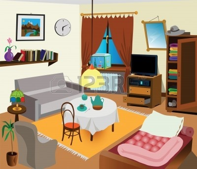 Living room clipart images.