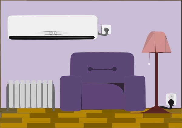 Living Room Furniture Clipart.