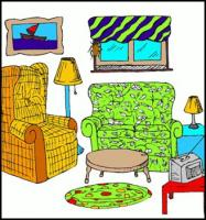 Free Living Room Clipart.