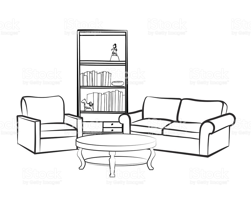 1759 Living Room free clipart.