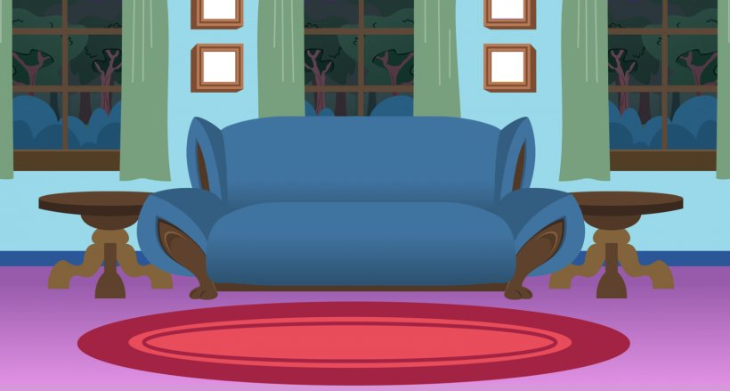 Living Room Bedroom Cartoon Clip Art, PNG, 1600x857px.