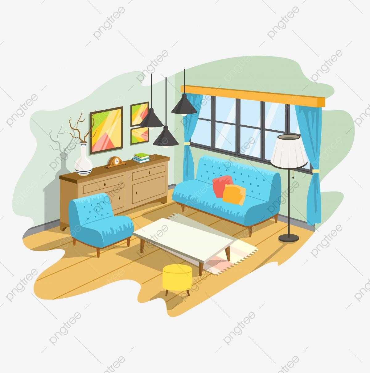 Living Room Furniture, Furniture Clipart, Product Kind.