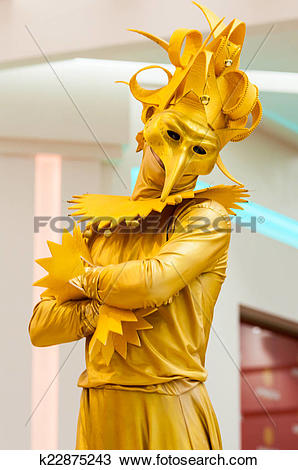 Stock Photo of Living statue k22875243.